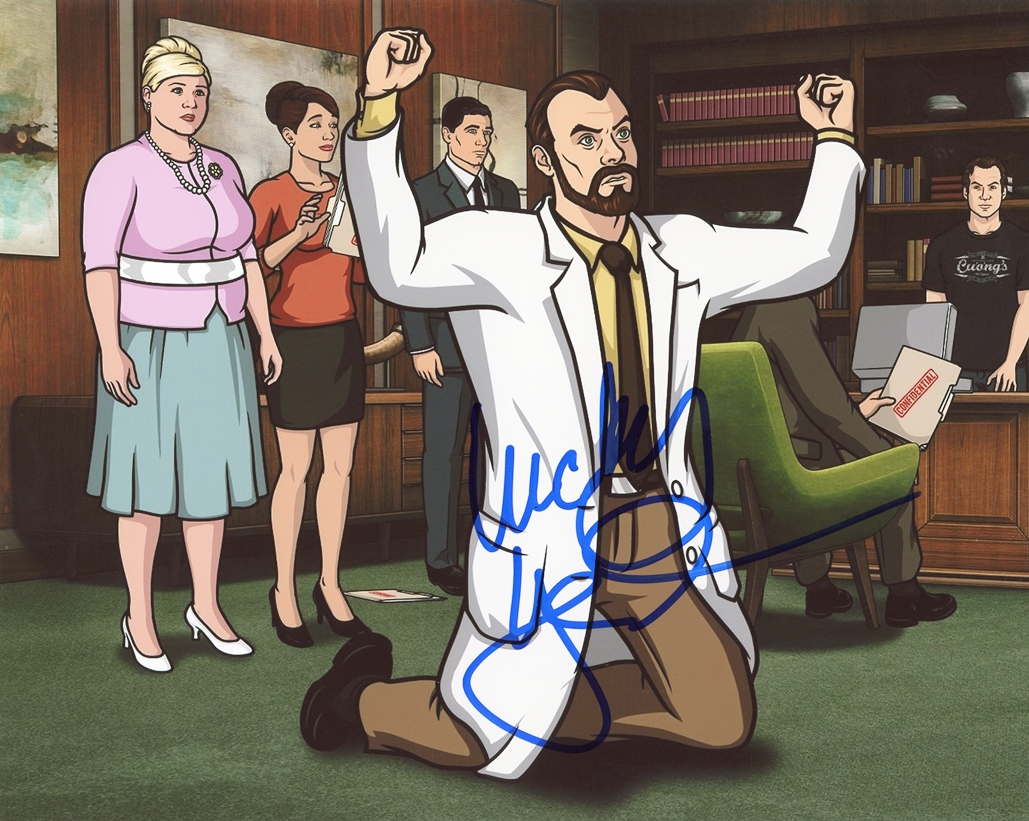 Lucky Yates Signed Photo