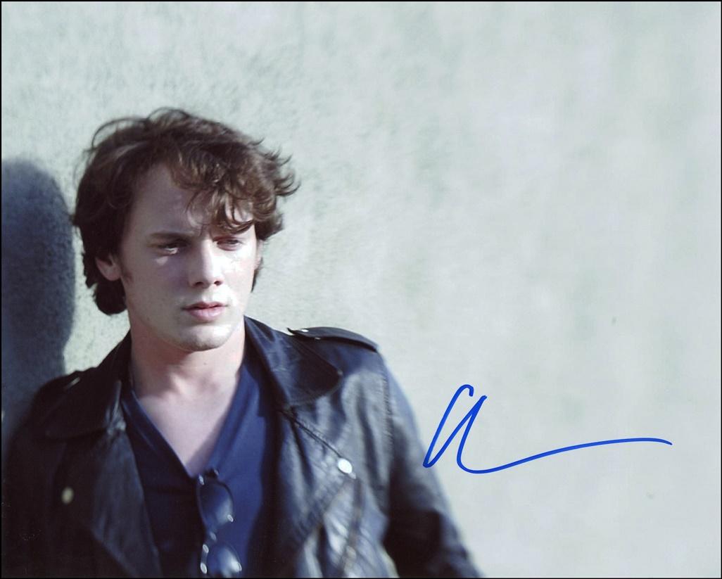 Anton Yelchin Signed Photo