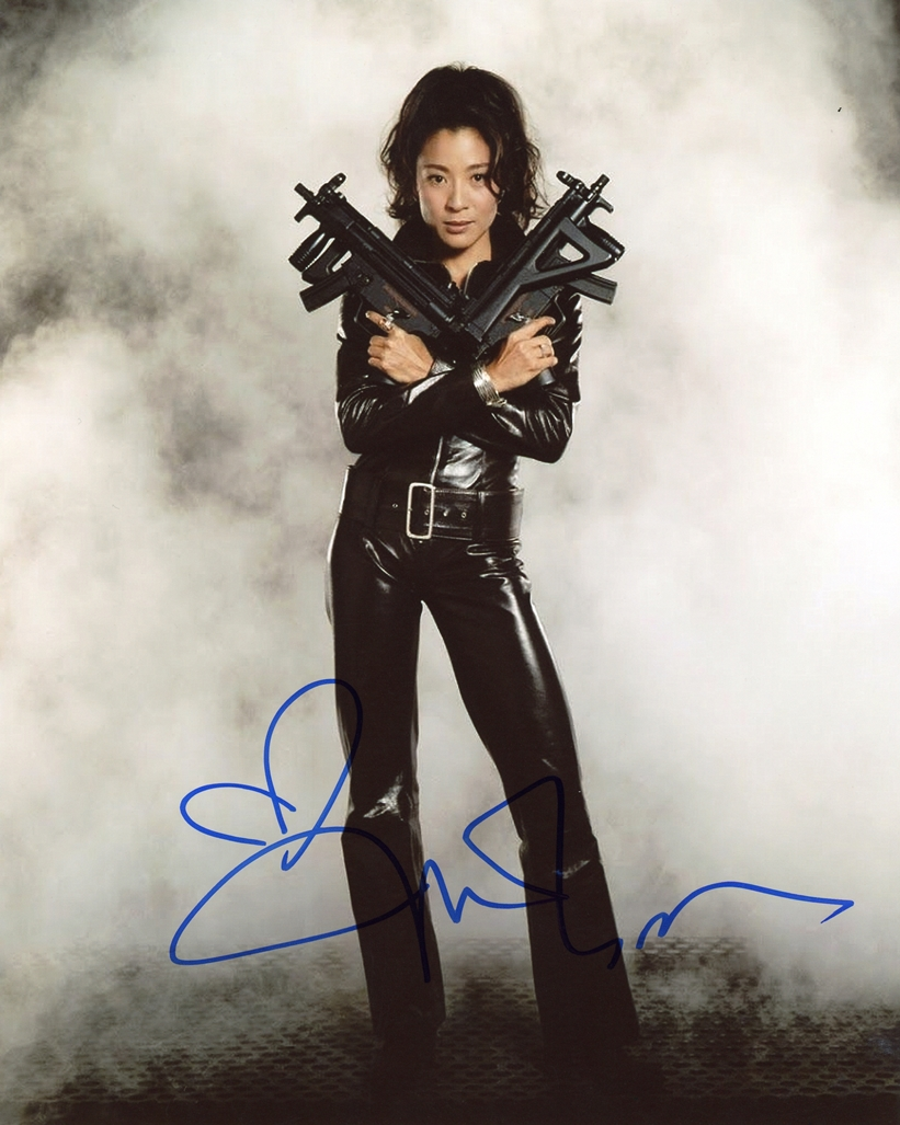Michelle Yeoh Signed Photo