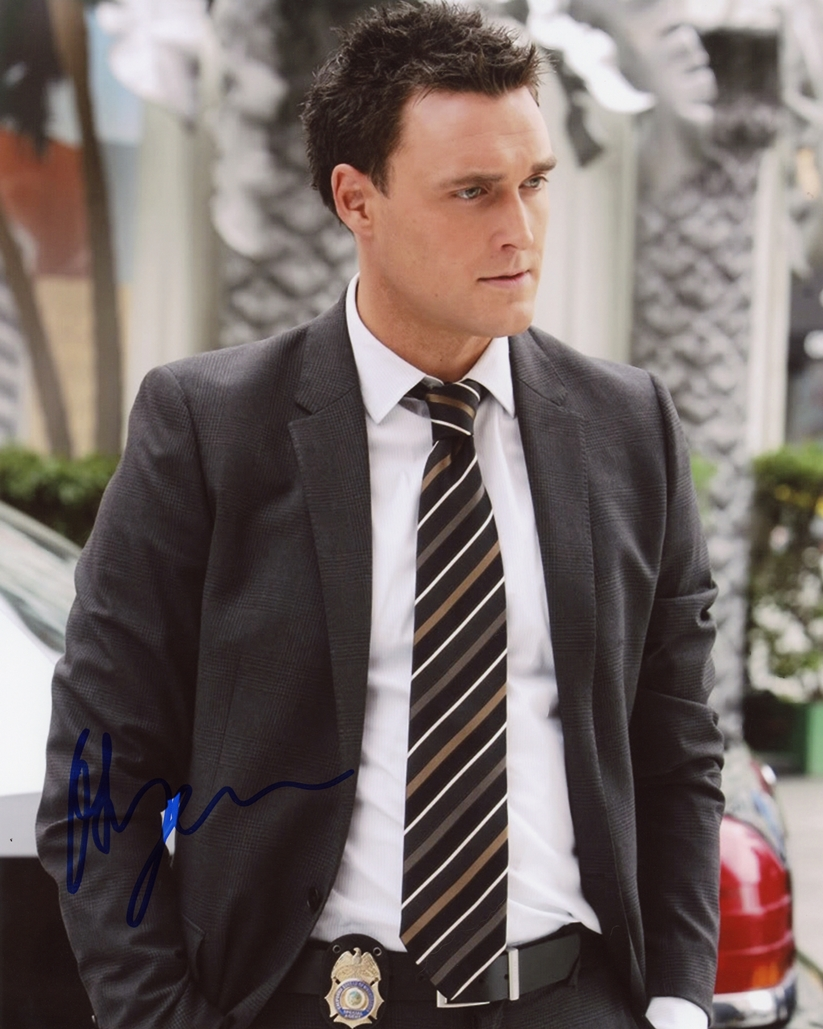 Owain Yeoman Signed Photo