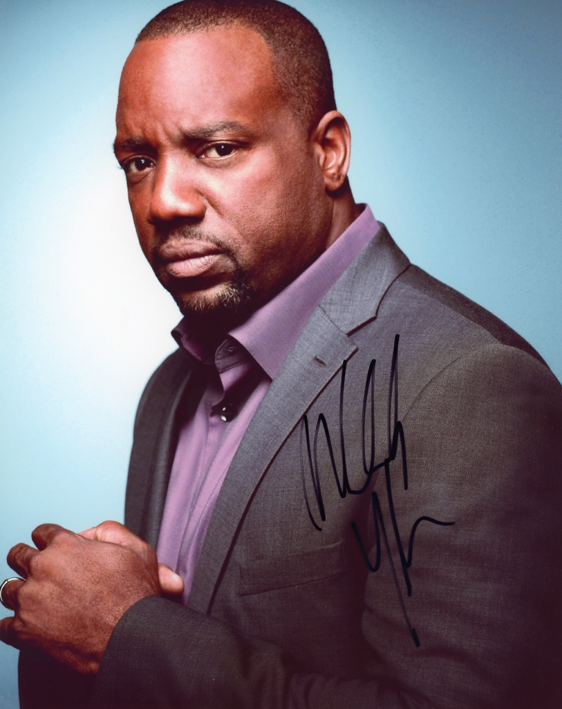 Malik Yoba Signed Photo