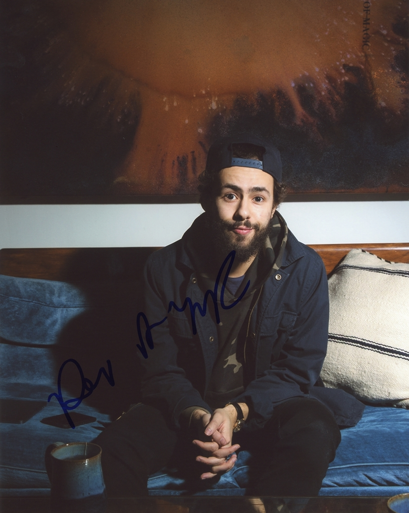 Ramy Youssef Signed Photo