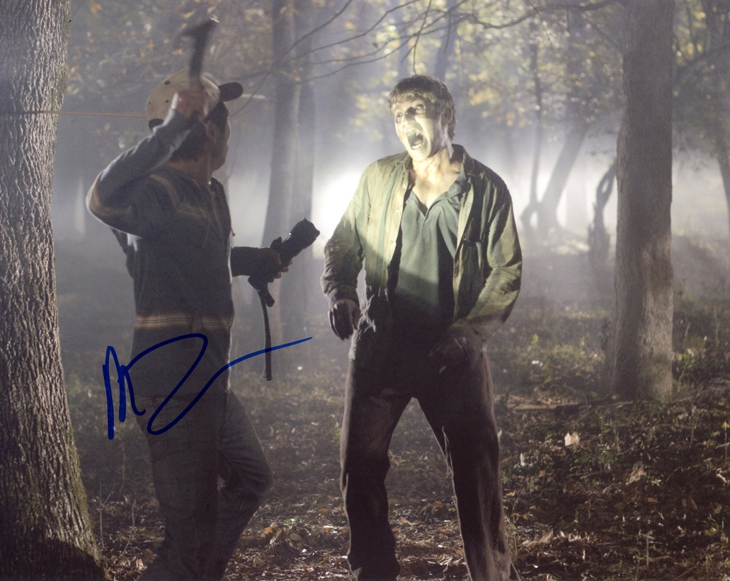 Michael Zegen Signed Photo