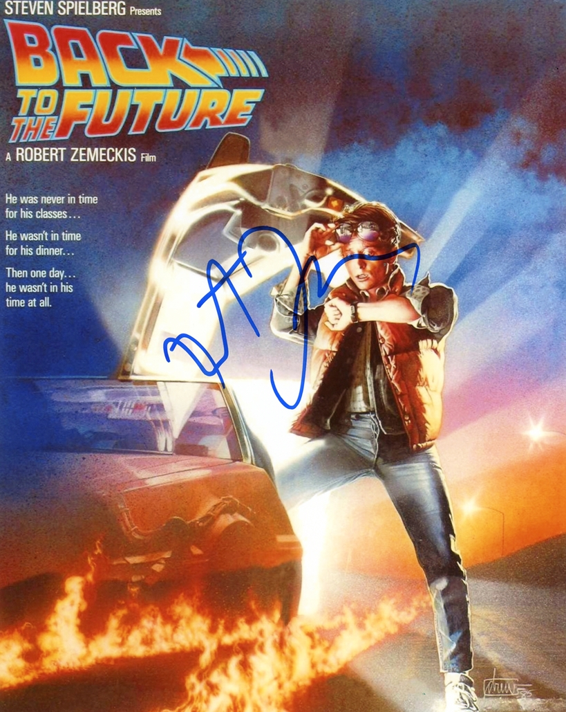 Robert Zemeckis Signed Photo
