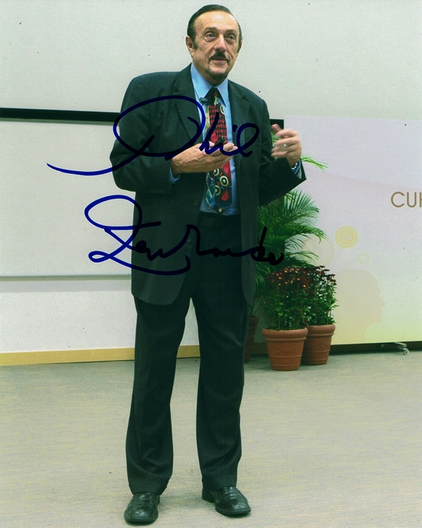 Philip Zimbardo Signed Photo