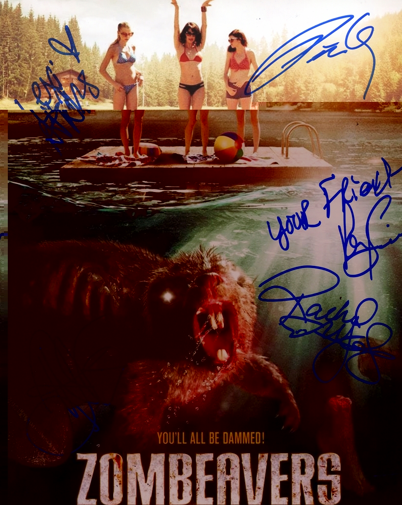 Zombeavers Signed Photo