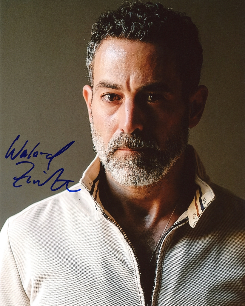 Waleed Zuaiter Signed Photo